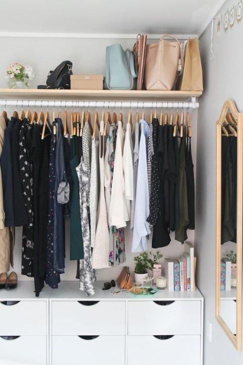 Vêtements-organisation
