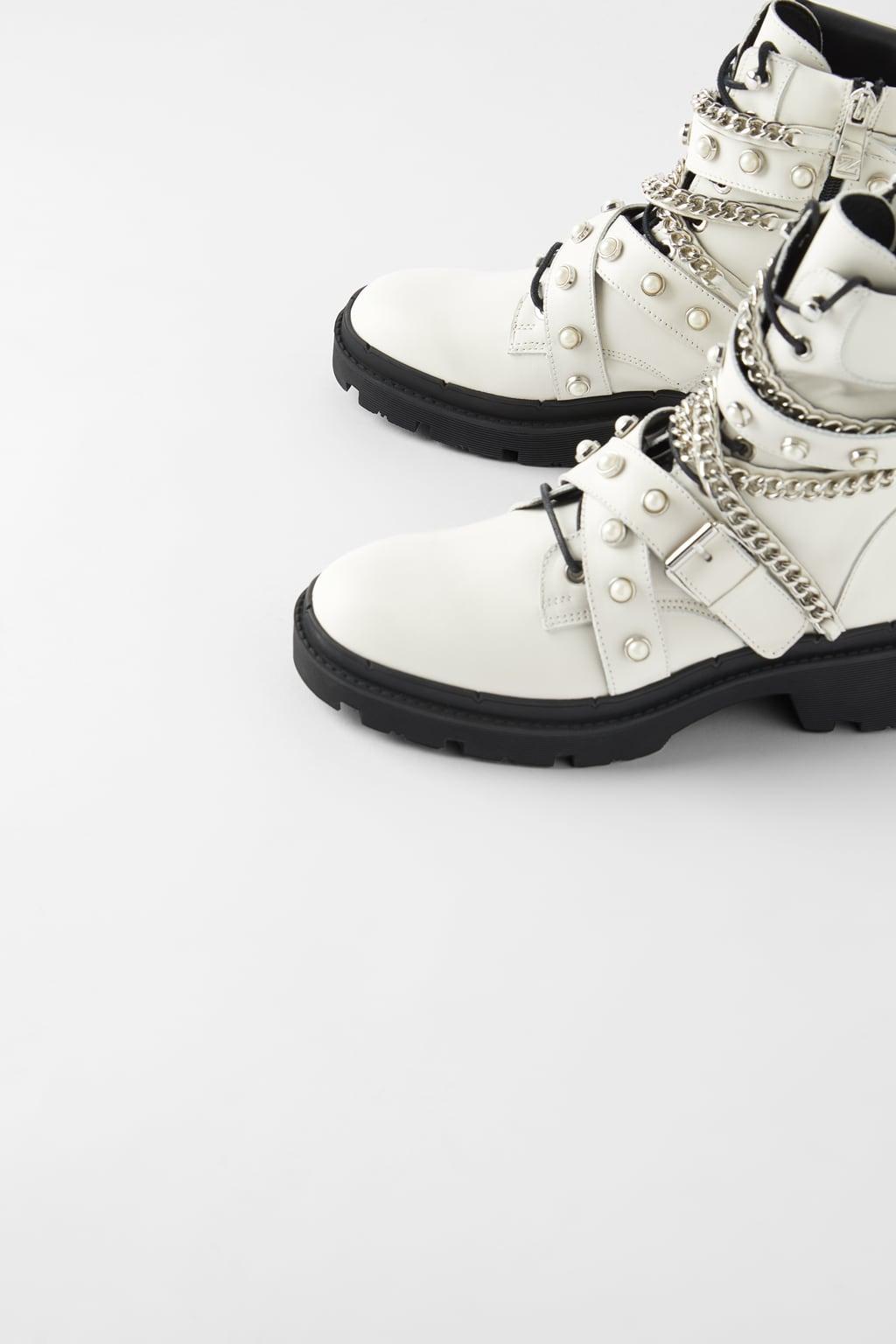 boots de motard plates